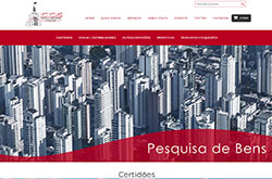 Site de certidão on-line