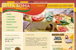 site para pizzaria