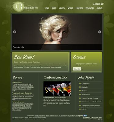 Site para clinica de estética