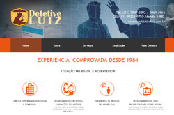 Site para detetive particular